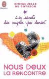 Nous deux la rencontre -  Boysson Emmanuelle de -  - 9782290006993