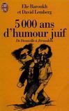 5000 ans d'humour juif -   -  - 9782290046029