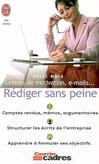 Lettres de motivation, e-mails... Rédiger sans peine -   -  - 9782290351864
