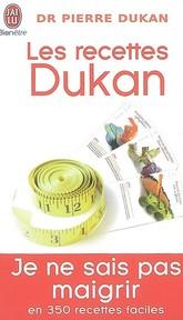 Les recettes Dukan 9782290008577