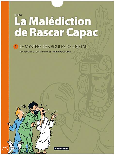 Nouveau livre : La malédiction de Rascar Capac